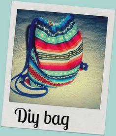 Diy: mochila fácil de estilo etnico