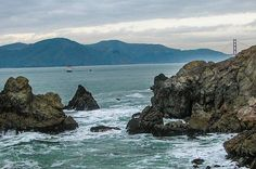 """""""Rocky Bay Entrance""""  Click the """"pinned from"""" link to purchase this print."""