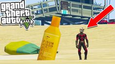 GTA 5: ANT-MAN Vs THE HULK MOD - GTA 5 Mods Showcase (GTA 5 Mods)