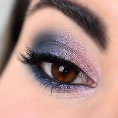 Make-up esprit galaxie avec la palette Untamed de Sigma - Marine Loves Polish and More... - Blog beauté et lifestyle Marine Love, Palette, Eye Shadow, Makeup Looks, Make Up, Polish, Eyes, Lifestyle, Beauty