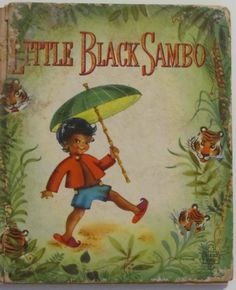 Vintage Little Black Sambo Vintage Childrens Book by Vinphemera, SOLD