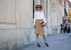 Street Style: Shop The Best Looks From Paris Fashion Week Spring 2015 : Lucky Magazine