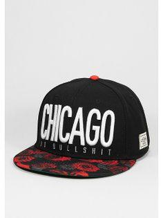 Cayler & Sons Snapback-Cap Chicago City black/r.roses/white für 34,99 Euro bei SNIPES. Artikelnummer: 7006457