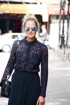 Maria Skappel all black chic