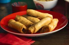 These crunchy spring rolls are the perfect start to an Asian-inspired banquet.