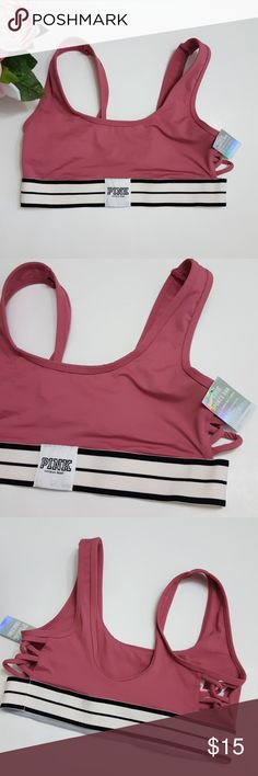 Sale!New! Victoria's Secret sport bralette! small New with tags! Victoria's secret bra  Size small. Fits 32c 32d 34a 34b and 34c. No pushup padding.   Bundle up! Offers always welcome :) PINK Victoria's Secret Intimates & Sleepwear