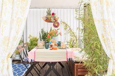 Dekoideen für den Balkon mit Deko von DEPOT im orientalischen Look
