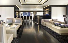 Modern furnishings: Families will pay a base amount, along with their share of the ongoing...