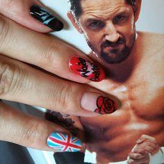 Wade Barrett #wwe #WadeBarrett  #nail #nails #Padgram