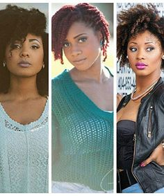 My Natural Sistas youtuber natural hair gurus with three different textures
