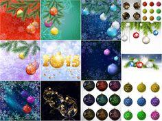 Mega pack Christmas balls and nice Christmas backgrounds