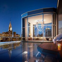 "- ""Your own resolution to succeed is more important than any other."" ~ Abraham Lincoln  Luxury Penthouse. New York City"