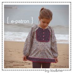 """ma blouse à plastron """"sweetie"""""""
