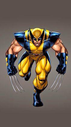 X-Men Wolverine Marvel SuperHero! Marvel Comics Superheroes, Marvel Art, Marvel Characters, Marvel Heroes, Wolverine Art, Logan Wolverine, Wolverine Pictures, Marvel Drawings, Marvel Comic Universe