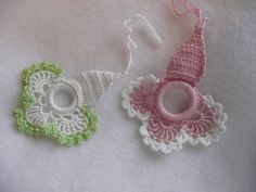 Vintage Crocheted Window Shade Pulls