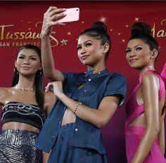 Zendaya and her life like figures. Literally which one is her? | Pin by @louisekapaya