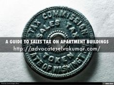 A GUIDE TO SALES TAX ON APARTMENT BUILDINGS