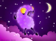 Moon Sheep by Nashiil on DeviantArt.