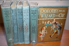 The Wizard of Oz books by L. Frank Baum