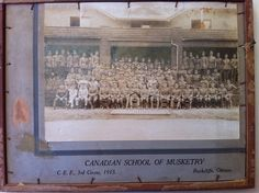 Canadian School of Musketry, Rockcliff, Ottawa 1915 Capital City, Ottawa, School, Frame, Painting, Home Decor, Art, Picture Frame, Art Background