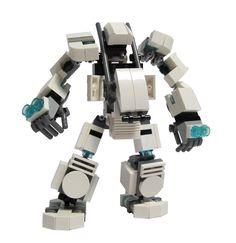 Amazon.com: Custom LEGO Mech Hard Suit Kit: Toys & Games