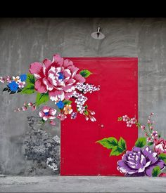 Brazil has the best graffiti art! Graffiti London Graffiti flowers alice in wonderland Dancer 3d Street Art, Street Art Graffiti, Street Mural, Urbane Kunst, Graffiti Artwork, Graffiti Tattoo, Graffiti Lettering, Graffiti Artists, Illustration Art