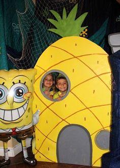 Hillary M's Birthday / Spongebob Water Bash - Photo Gallery at Catch My Party Spongebob Birthday Party, 6th Birthday Parties, Birthday Party Decorations, Spongebob Party Ideas, Birthday Ideas, 7th Birthday, Sponge Bob Party, Pineapple Pictures, Birthdays