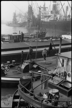 Rotterdam Netherlands 1956 by Henri Cartier-Bresson Candid Photography, Amazing Photography, Street Photography, Landscape Photography, Henri Cartier Bresson Photos, Sinbad The Sailor, Rotterdam Netherlands, Dream Pictures, I Amsterdam