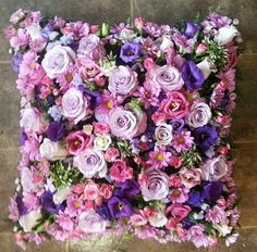 Spring Flower Arrangements, Spring Flowers, Floral Arrangements, Flower Ideas, Flower Designs, Florist Window Display, Funeral Ideas, Heart Cushion, Funeral Tributes