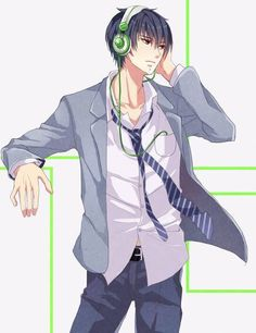 Natsume with black hair~