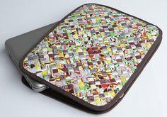 Notebook taske i genbrugsmateriale   Albot
