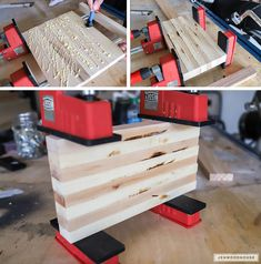 How to glue up a cutting board