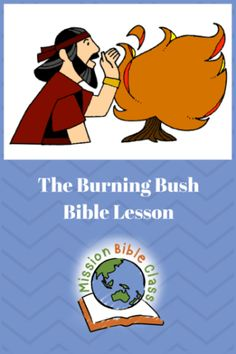 The Lord Speaks from a Burning Bush Pin Sunday School Curriculum, Sunday School Activities, Bible Activities, Sunday School Lessons, Sunday School Crafts, Youth Lessons, Bible Lessons For Kids, Bible For Kids, Preschool Lessons