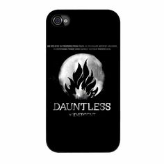 Divergent Dauntless The Brave Logo three iPhone 4/4s Case