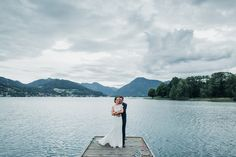 Relaxed lakeside Wedding at lake Tegernsee in Bavaria