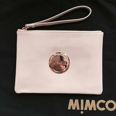 Find More Coin Purses Information about new arrived Mimco Medium Lovely pouch Patent BLUSH PINK Women Wallet high quality leather wallet Rose Gold logo FREE SHIPPING,High Quality Coin Purses from MIM STORE on Aliexpress.com