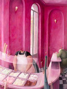 'Tutti Frutti' by Sarah-Jane Szikora Original - Oil on Canvas 100cm x 75cm