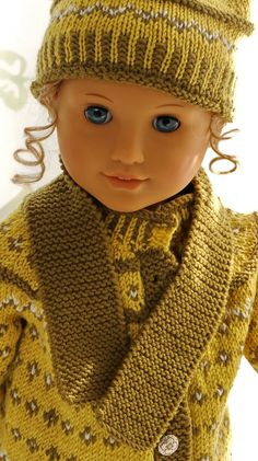 Baby born stricken anleitung 28 ideas for 2019 Knitting Dolls Clothes, Knitted Dolls, Girl Doll Clothes, Girl Dolls, Baby Dolls, Free Knitting, Baby Knitting, Doll Patterns, Knitting Patterns