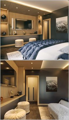 Lovely Transitional Bedroom Designs Ideas To Get Inspiration Transitional Bedroom Ideas - Transitional designs can make use of straight lines along with spherical accounts. It counts on a darker palett Master Bedroom Layout, Small Master Bedroom, Modern Bedroom Design, Bedroom Layouts, Master Bedroom Design, Bedroom Colors, Bedroom Decor, Bedroom Ideas, Bedroom Designs