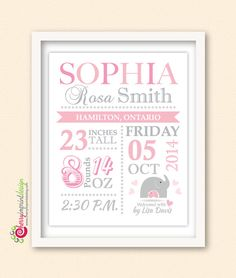 Baby stats wall art custom birth stats with first we had each other baby stats wall art custom birth stats with first we had each other nursery decor baby shower gift gift for new parents birth information by pink negle Choice Image