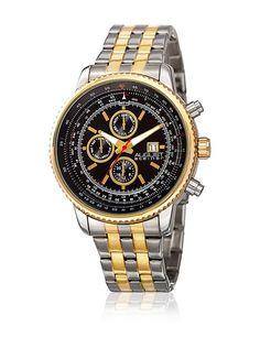 ab53d12999d7 August Steiner Reloj con movimiento cuarzo suizo Plateado   Dorado 46 mm en Amazon  BuyVIP