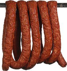 or polish sausage.yes the butt of many jokes but sooooo good! Sausage Making, How To Make Sausage, Poland Food, Savory Foods, Kielbasa, Polish Recipes, How To Make Homemade, Fabulous Foods, Warsaw