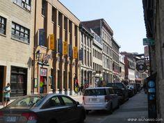 rue st paul velho porto em montreal