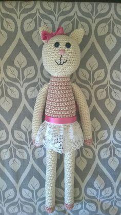 Crochet cat for my baby girl