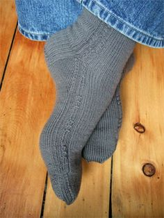 Socks for my boyfriend once I get the hang of this sock knitting business!