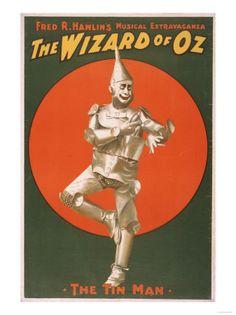 """""""The Wizard of Oz"""" Musical Theatre Poster No.2 Kunstdrucke bei AllPosters.de"""