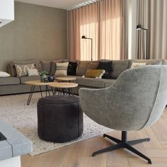 DEF 4 Home And Living, Living Room, Portfolio, Interior Inspiration, Sweet Home, New Homes, Interior Design, Chair, House Styles