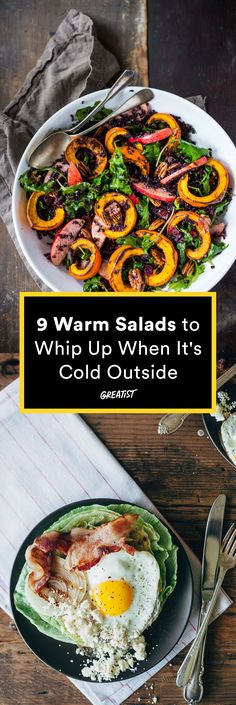Salad just got way cozier. #warm #salad #recipes http://greatist.com/eat/warm-salad-recipes-for-when-its-cold-out