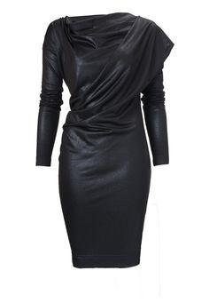 Toga Drape Dress