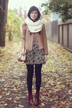 Autumn legs - #autumn, #sweater, girl